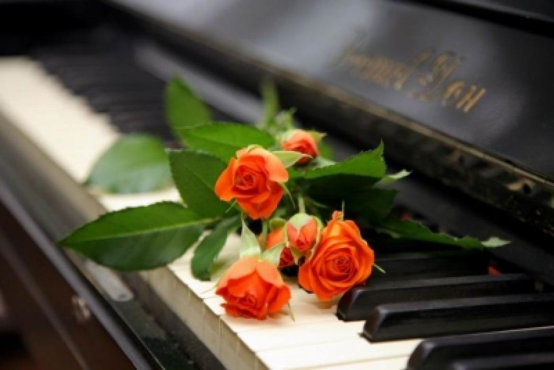 Открытка с днём рождения пианисту 74